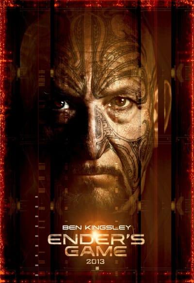 Ender's Game Character Poster: Ben Kingsley
