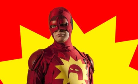 Rainn Wilson as Crimson Bolt!