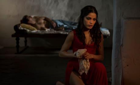 Freida Pinto as Priestess Phaedra
