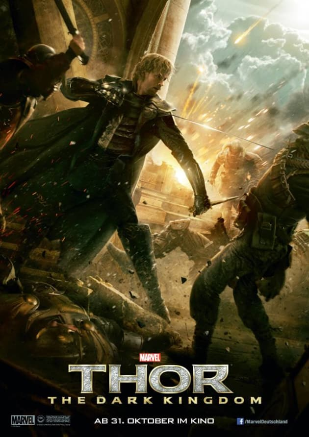 Thor The Dark World Zachary Levi Poster