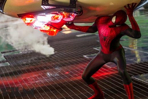 The Amazing Spider-Man 2 Action Still