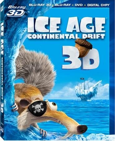 Ice Age Continental Drift Blu-Ray
