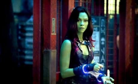 Guardians of the Galaxy Star Zoe Saldana
