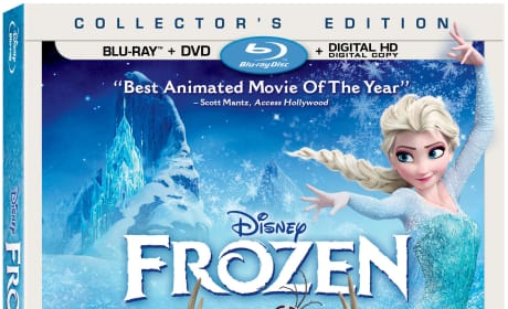 Frozen DVD/Blu-Ray Combo Pack