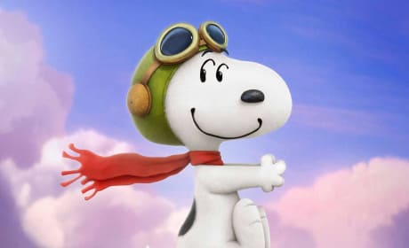 The Peanuts Movie Snoopy Flying