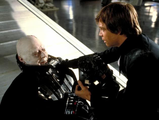 Return of the Jedi Luke Anakin