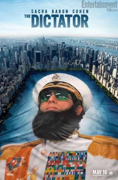 The Dictator Central Park Poster