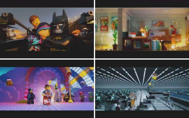 The lego movie clip i am batman