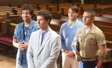 That's My Boy Stars Andy Samberg and Adam Sandler