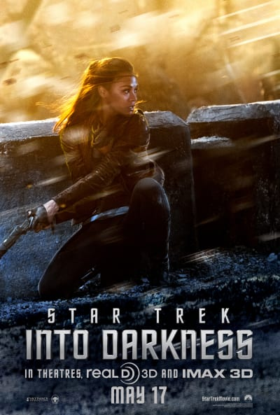 Star Trek Into Darkness Uhura Poster