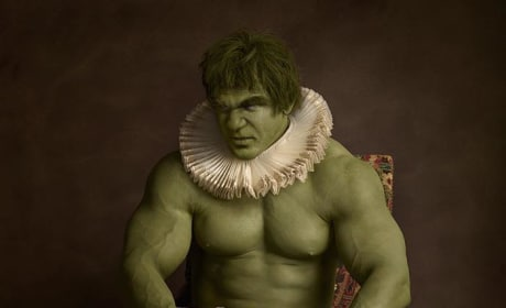 The Incredible Hulk As Renaissance Subject