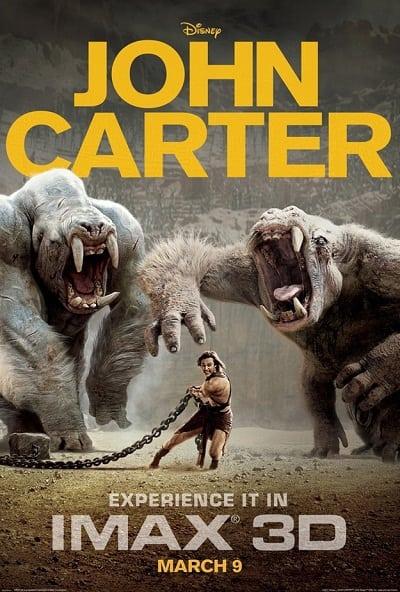 John Carter IMAX Poster