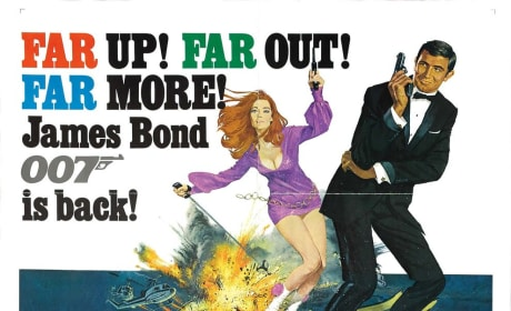 On Her Majesty's Secret Service Poster