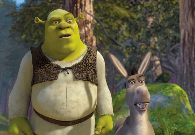 Shrek and Donkey Photo