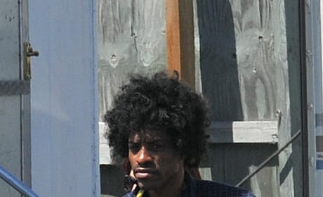 Andre 3000 Becomes Jimi Hendrix: First Photo From the Set of All is By My Side