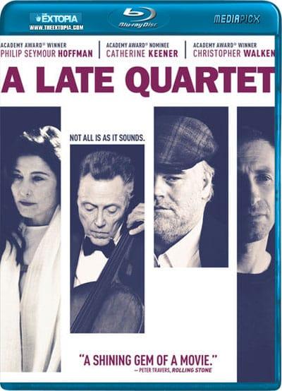 A Late Quartet Blu-Ray