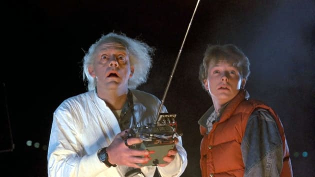 Back to the Future Michael J. Fox Christopher Lloyd