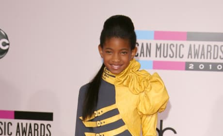 Willow Smith at the American Music Awards