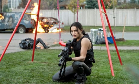Michelle Rodriguez Resident Evil: Retribution