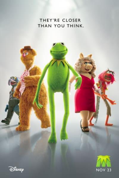 Muppets Teaser Poster