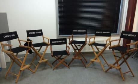 Avengers Age of Ultron Set Photo