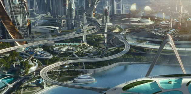Tomorrowland Landscape