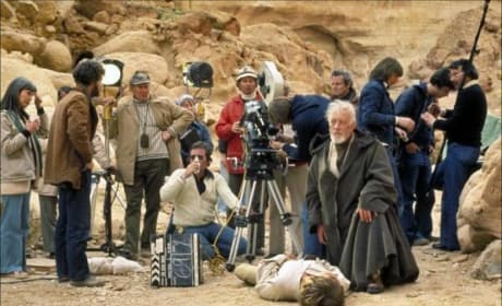 Star Wars Alec Guinness Set Photo