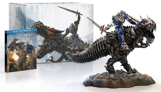 Transformers Age of Extinction Blu-Ray Set