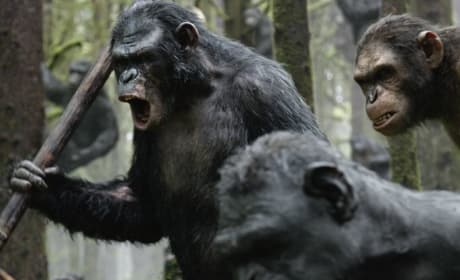 Dawn of the Planet of the Apes: Apes in Action