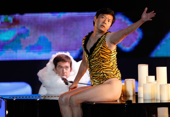 Ken Jeong and Ed Helms Sing Hangover Song