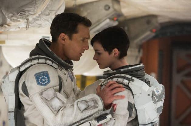Anne Hathaway Matthew McConaughey Interstellar