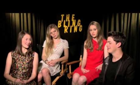 "The Bling Ring Exclusive: Cast Chats ""Insane"" Celebrity Obsession"