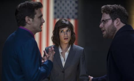 The Interview James Franco Seth Rogen Lizzy Caplan