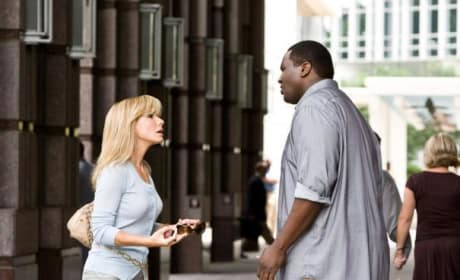 Leigh AnneTouhy and Michael Oher