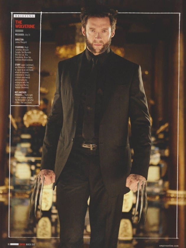 Wolverine in a Suit