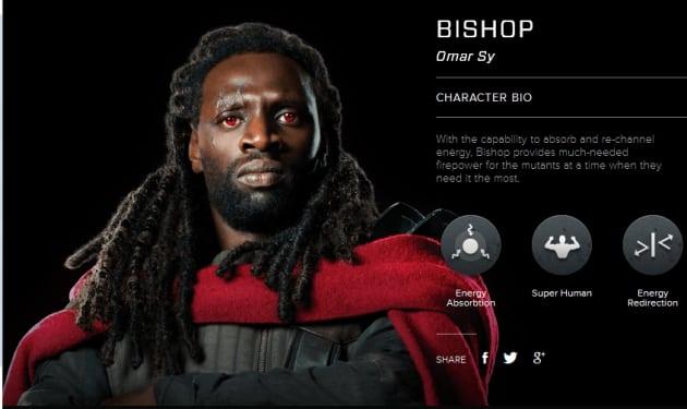 X-Men Days of Future Past Bishop Bio Banner