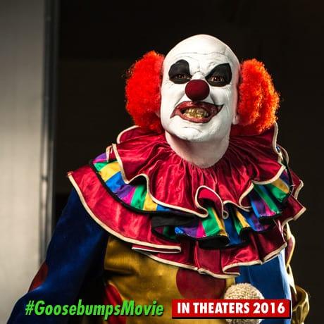 Goosebumps Clown Photo