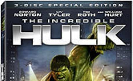 The Incredible Hulk DVD News, Details