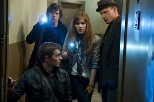 Now You See Me Jesse Eisenberg Isla Fisher Woody Harrelson