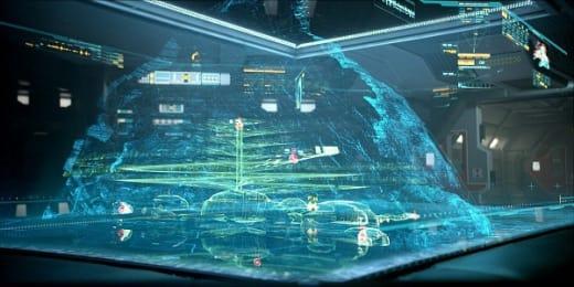 Prometheus Still: Inside the Ship