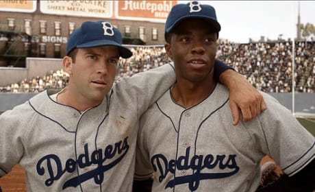 42: Chadwick Boseman on Walking in Jackie Robinson's Shoes