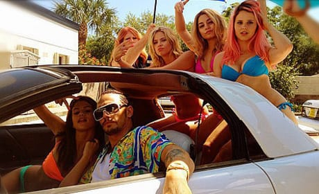 The Cast of Spring Breakers