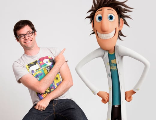 Cloudy with a Chance of Meatballs 2 Bill Hader