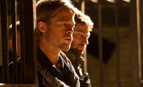 Brad Pitt World War Z Still