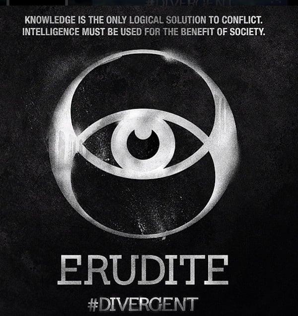 Divergent Erudite Symbol