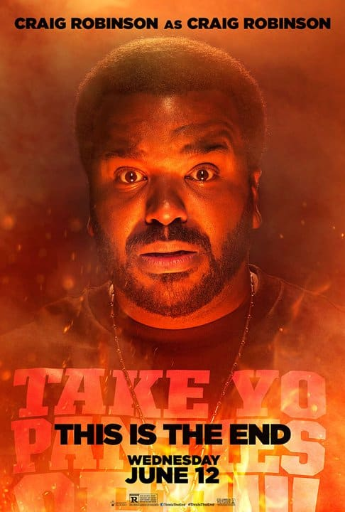 This is the End Craig Robinson Poster