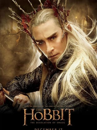The Hobbit: The Desolation of Smaug Thranduil Poster