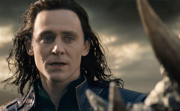 Tom Hiddleston Loki Thor: The Dark World Photo