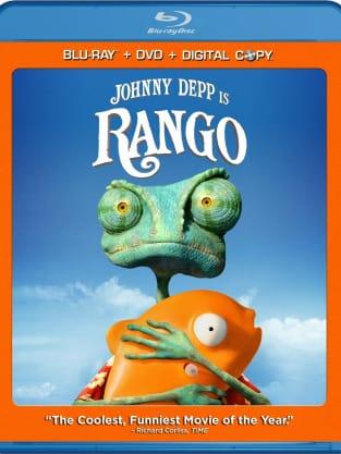 Rango DVD Cover