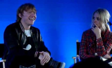 Rupert Grint @Apple store- confirms Leavesden Studios will be made into Potter attraction